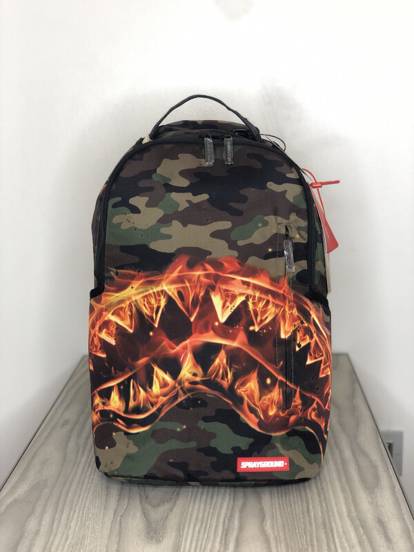 Zaino Sprayground Shark Fire