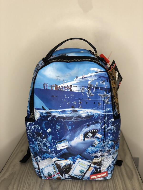 Zaino Sprayground Shark of Wall Street