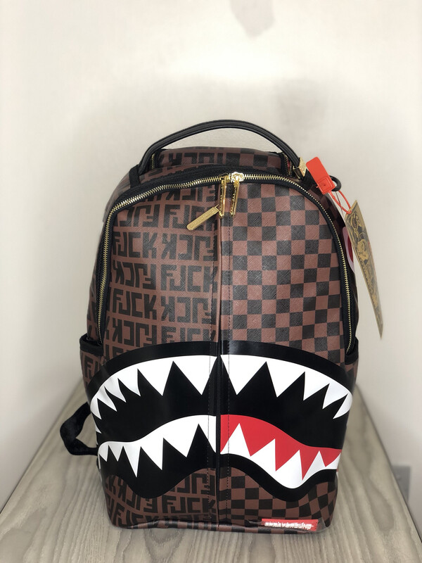 Zaino Sprayground Paris vs Rome Shark