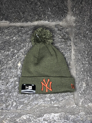 New York Yankees bubble beanie NEW ERA verde arancio