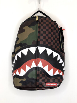 Zaino Checks & Camouflage Sprayground