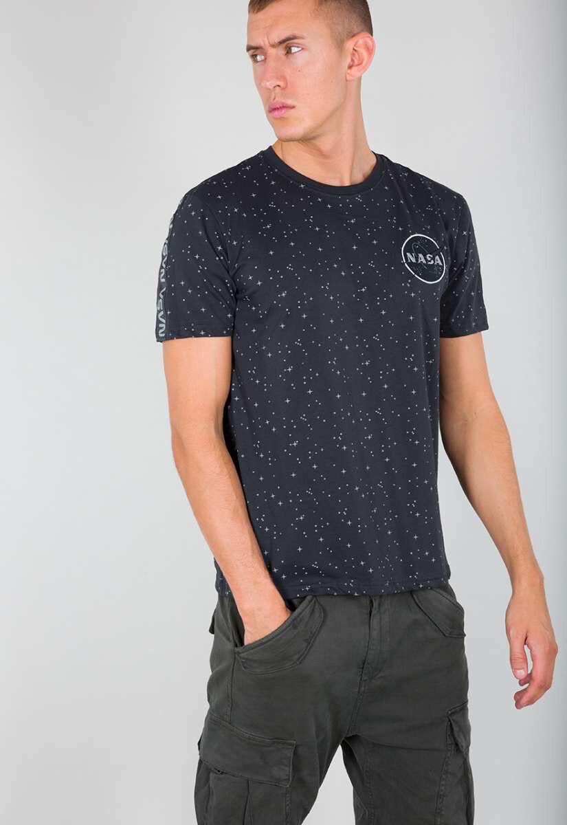 T-shirt Nasa Space Tape