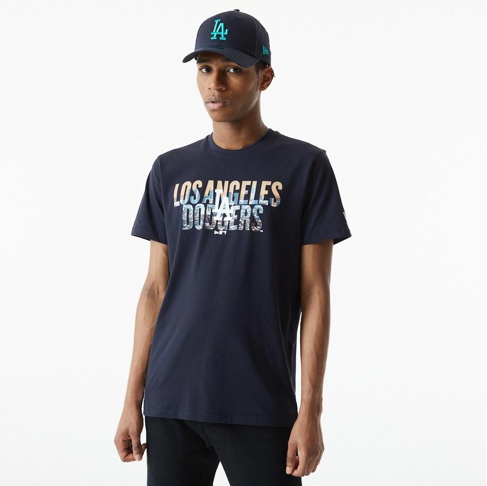T-shirt LA wordmark photographic New Era