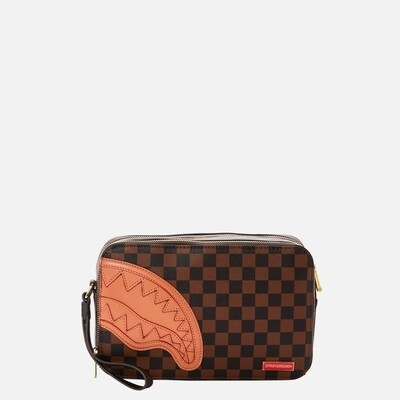 Square toeletry bag Henny brown Sprayground