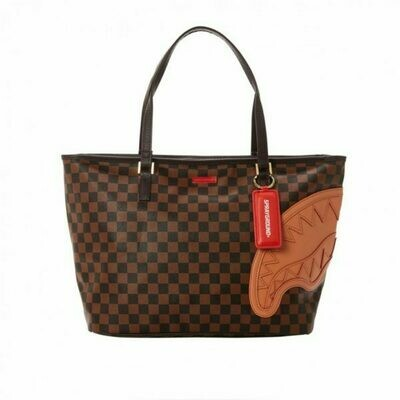 Brown Henny tote Sprayground