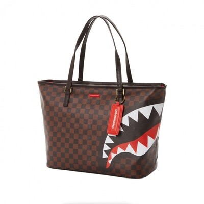 Borsa Checks & Camo tote Sprayground