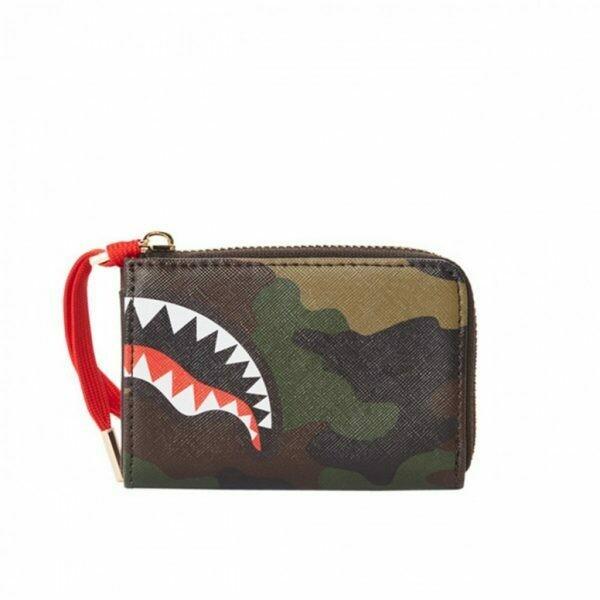 Checks & camo wallet Sprayground