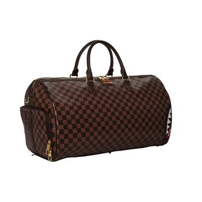 Borsone Sprayground split the check Duffle
