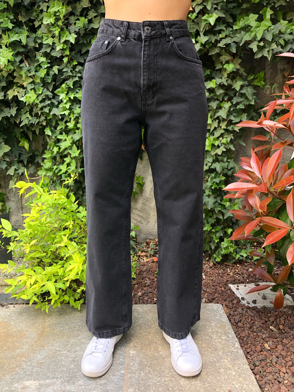 Jeans regular black washed Ragged