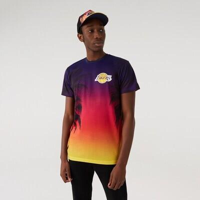 T-shirt Summer City Lakers - New Era