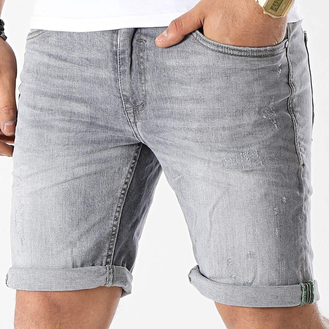 Shorts denim grigio Blend
