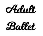 Adult Ballet - Single Class