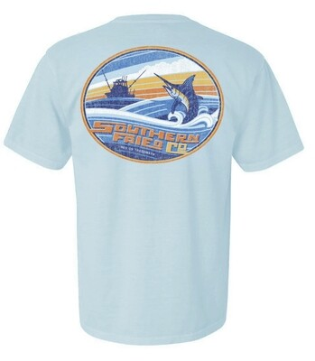 Southern Fried Cotton Short Sleeve Go Fishing tee