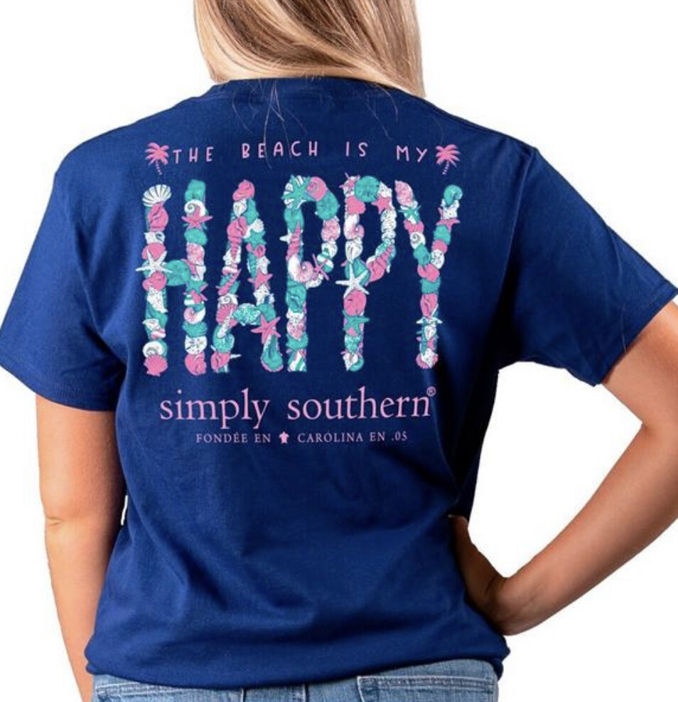 Simply Southern Happy Tee