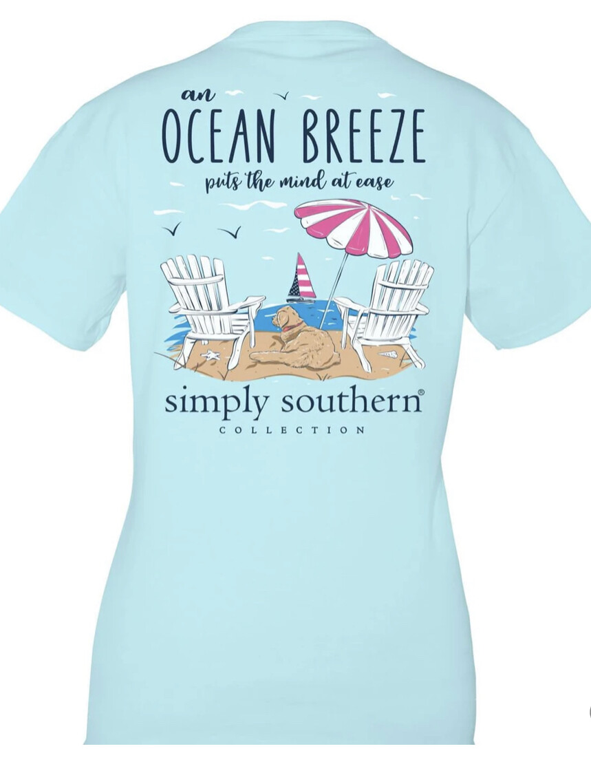 Simply Southern Ocean Breeze Tee