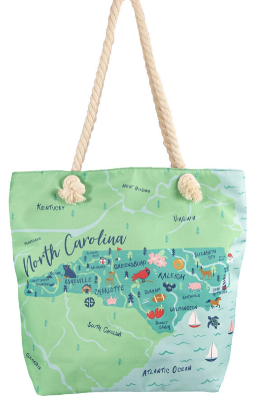Simply Southern State Tote