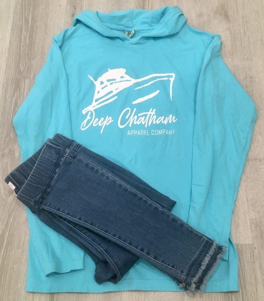 Deep Chatham Yacht Hooded T-shirt