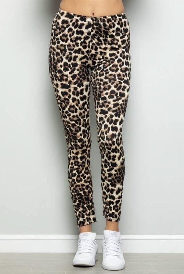 Hemish Animal Print long leggings