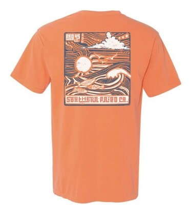 Southern Fried Cotton Short Sleeve Ocean Vibes