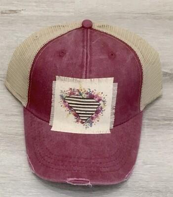 SC Floral state baseball hat