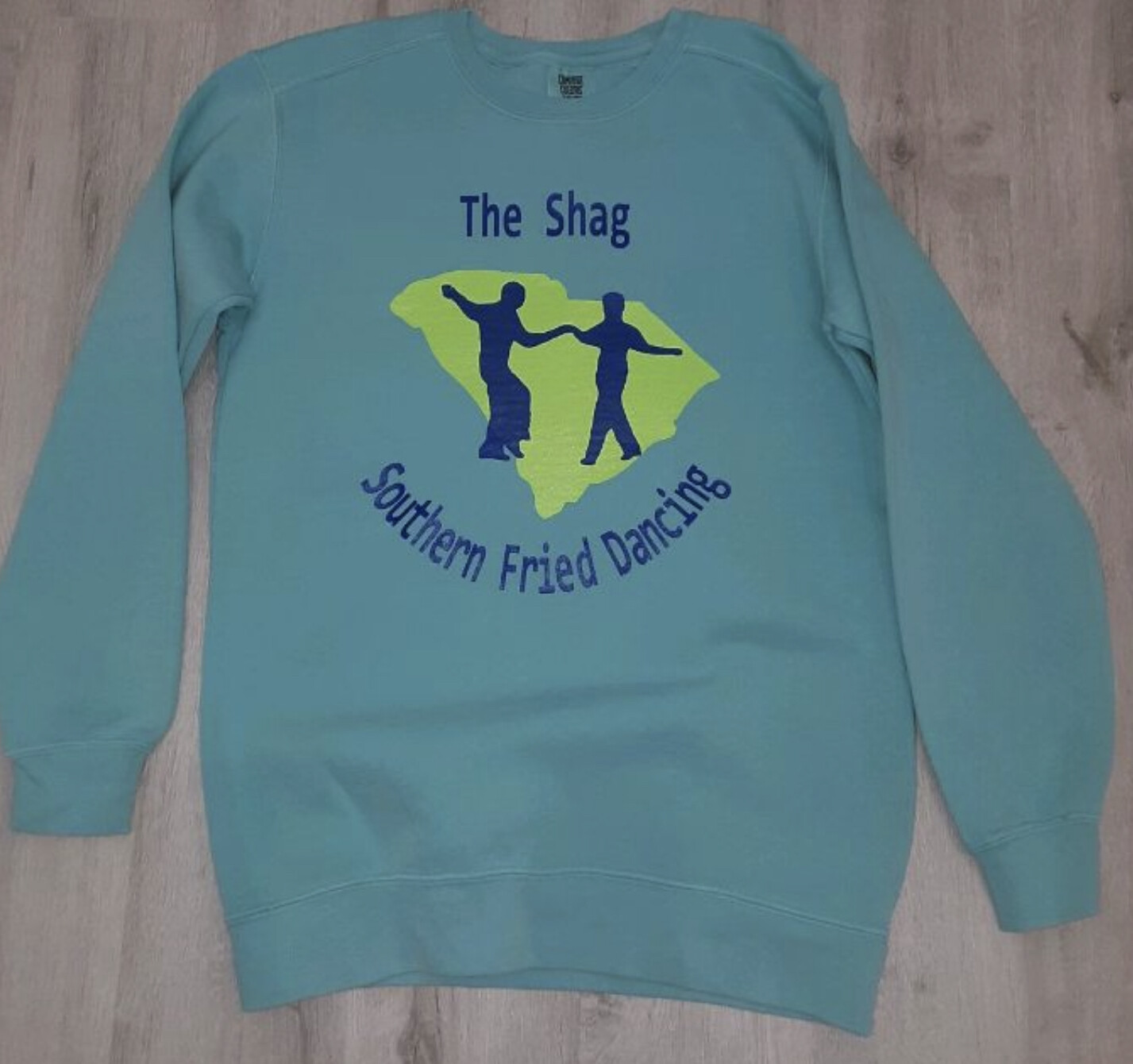 The Shag- Southern Fried Dancing Crewneck