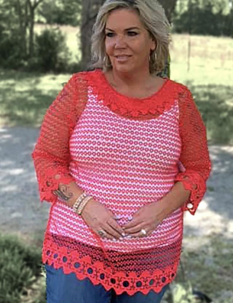 Crochet Mesh Tunic
