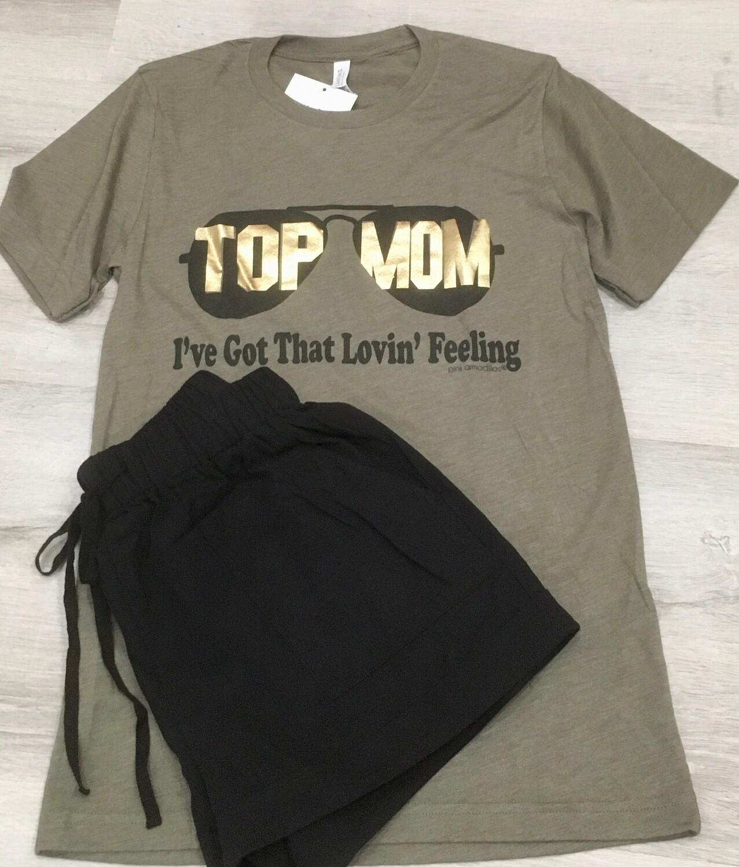 Top Mom Vintage Tee