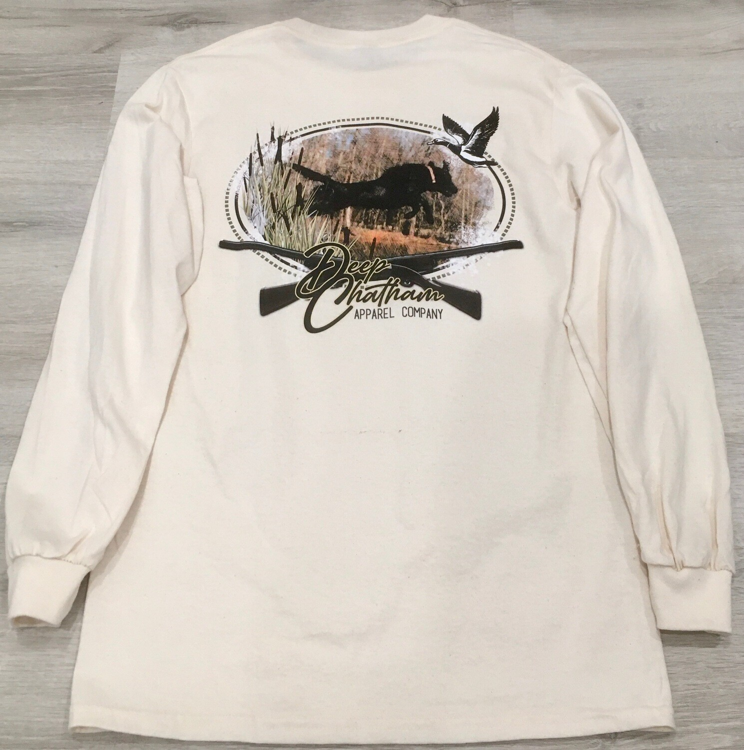 Deep Chatham Chasing Cattails long sleeve tee
