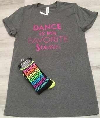Dance Is My Favorite Season Tee