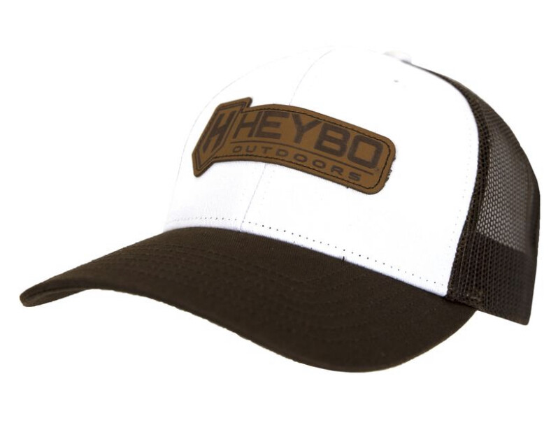 Heybo Bar Logo Leather Patch hat