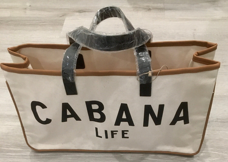 Cabana Life Canvas Tote