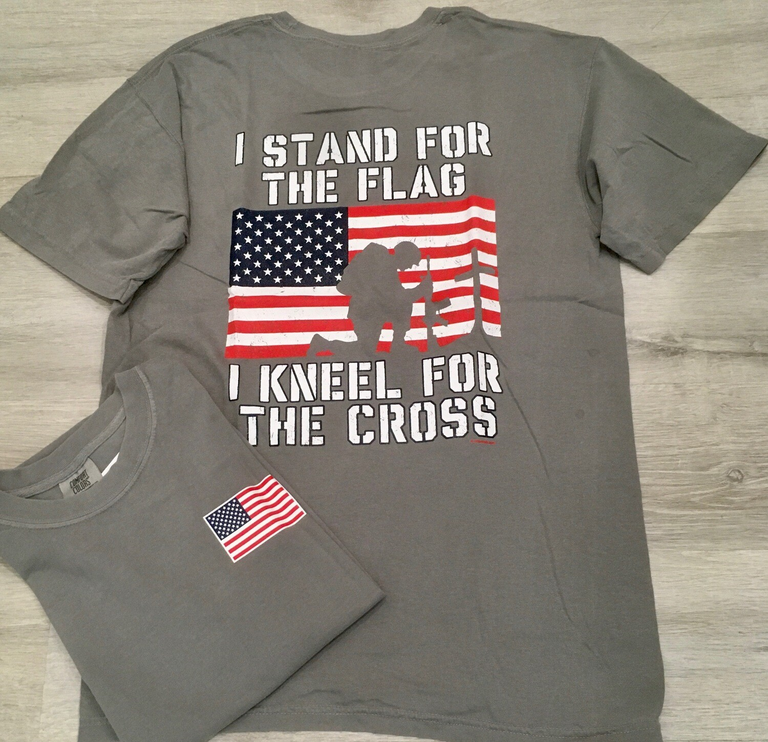 I Stand For The Flag Tee