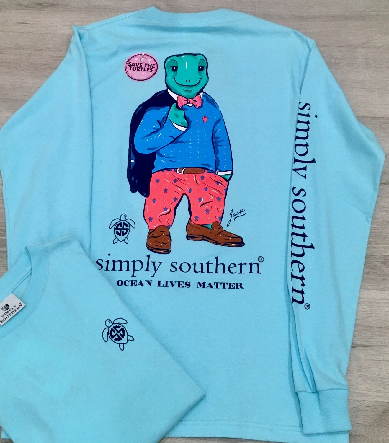 Simply Southern Save the Turtles Jack LS
