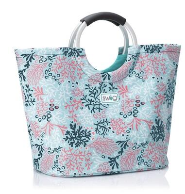 Swig Coral Me Crazy Loopi Tote Bag