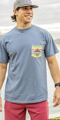 Rainbow Trout Pocket Tee