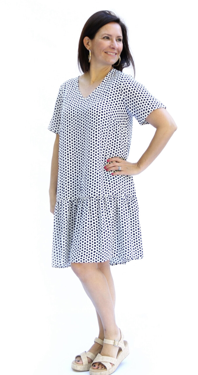 Farrah Speckled with Love Dress