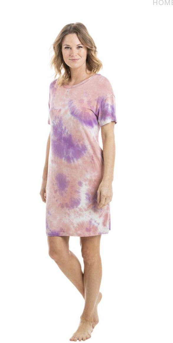 Tie Dye T-shirt Dress