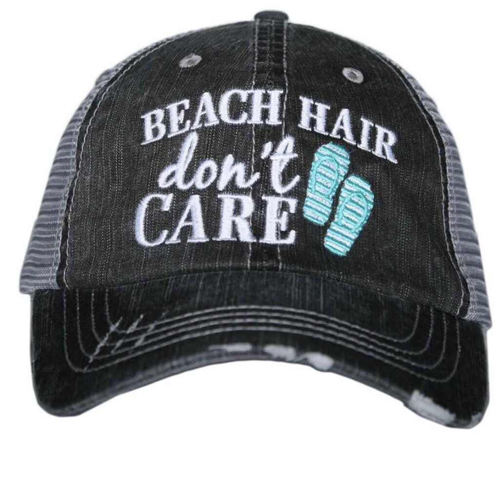 Beach Hair Don't Care with Flipflops