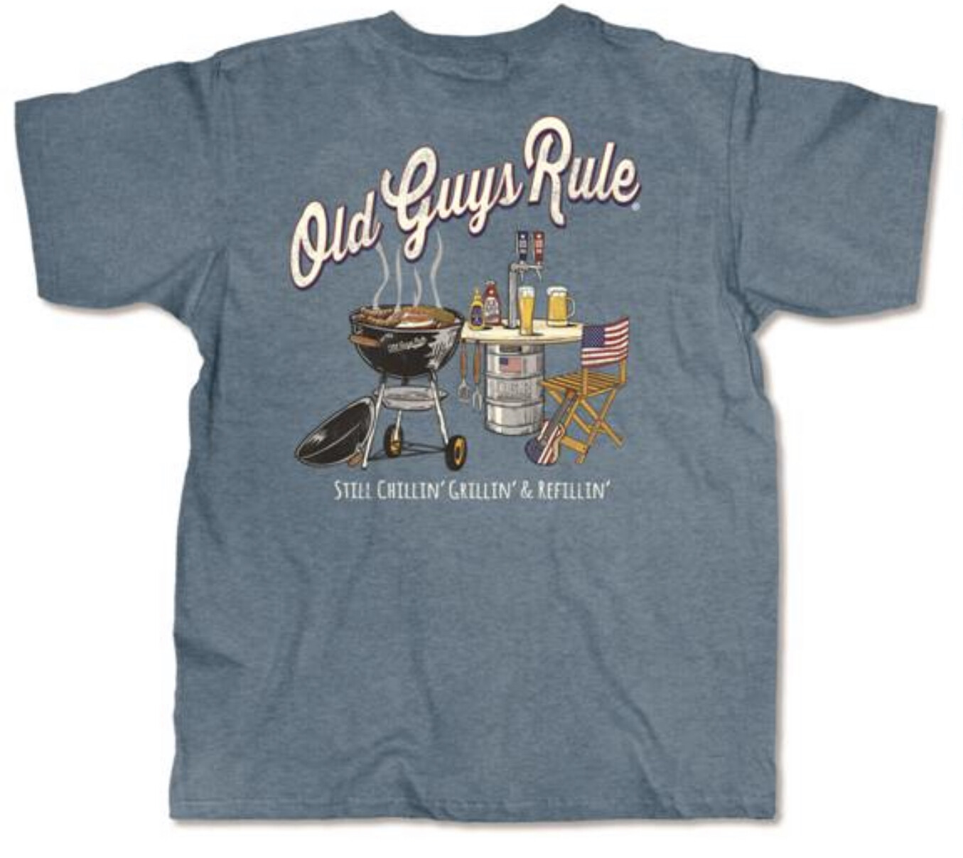 Old Guys Rule...still grilling