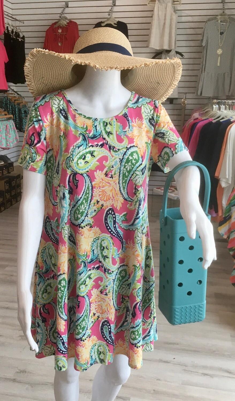 Hemish Floral Dress