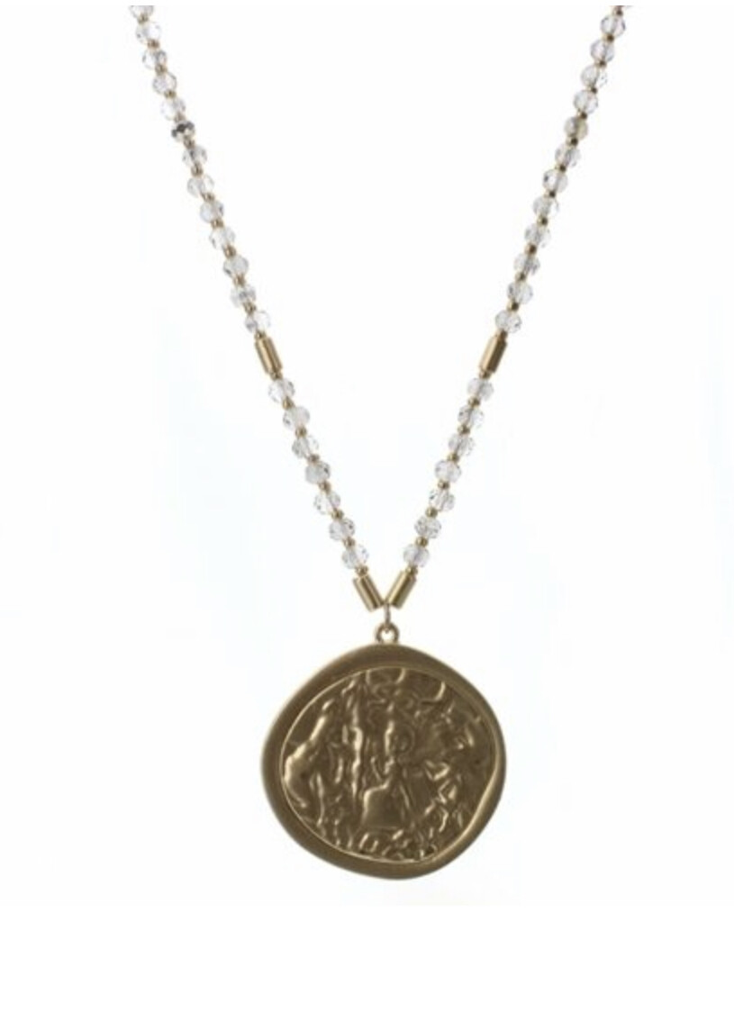 Black Diamond Beaded Necklace