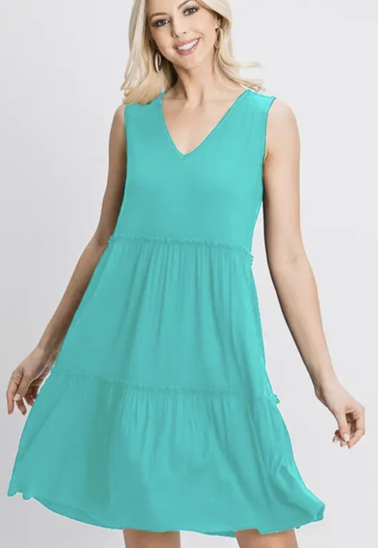 Heimish Sleeveless dress with ruffled detail