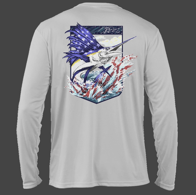 Reel Trademark Camo Performance Shirt