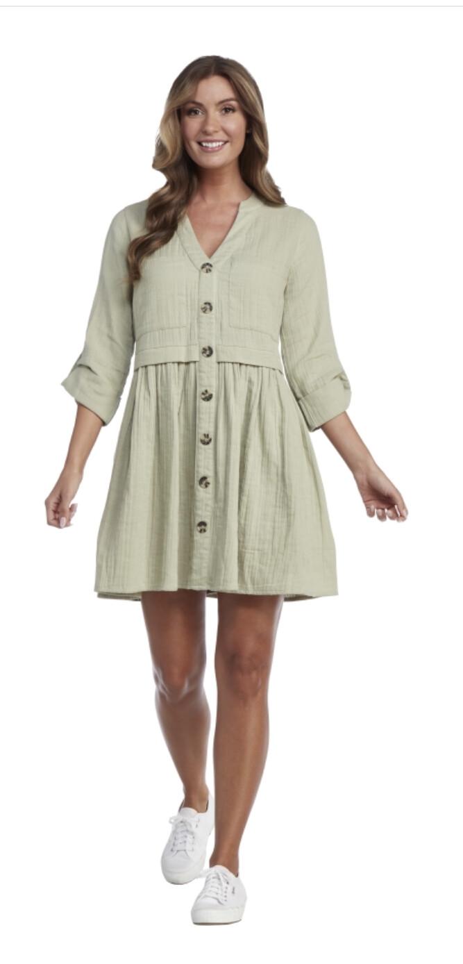Mudpie Addison Button Up Dress