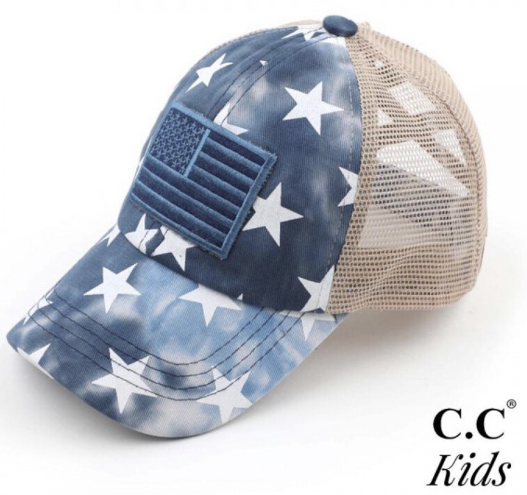 CC Kid Flag Hat