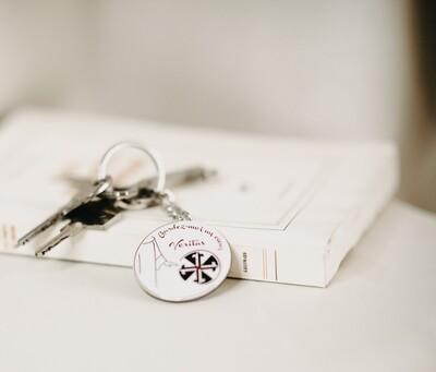 Porte clef - Coeur Veritas