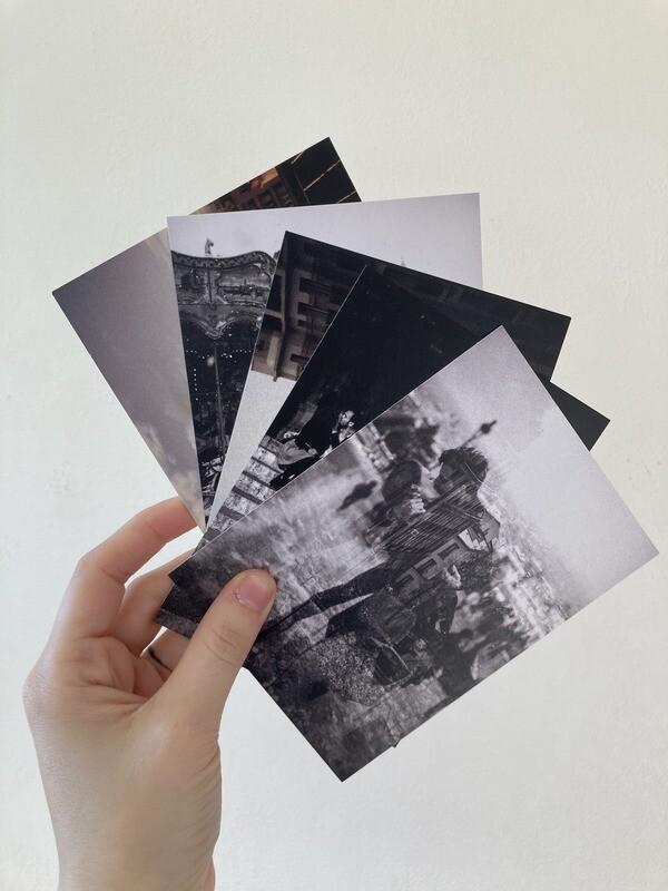 Lot de 5 tirages - Format A6