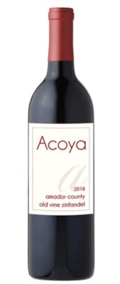 Acoya 2018 Amador County Old Vine Zinfandel