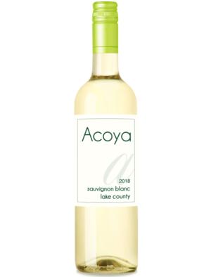 Acoya 2018 Lake County Sauvignon Blanc