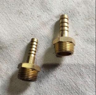 Brass Nipple 10 mm (F11501000)